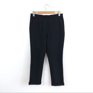 Kate Spade Live Colorfully Black Tapered Leg Pants